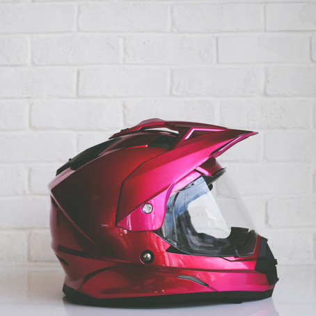 How 3 stolen helmets helped me ACCEPT the divine masculine into my life