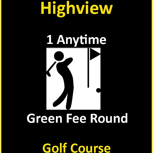 Single Round Of Golf (Anytime) - Tax Incl.