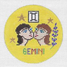 Gemini Zodiac Round - ZR106