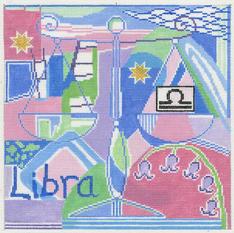Libra Zodiac Square - Z109