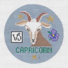 Capricon Zodiac  Round - ZR112