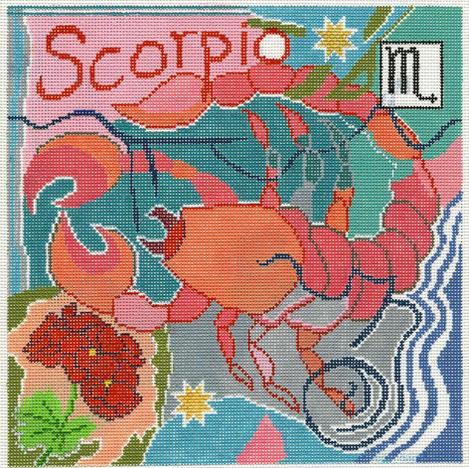 Scorpio Zodiac Square - Z110