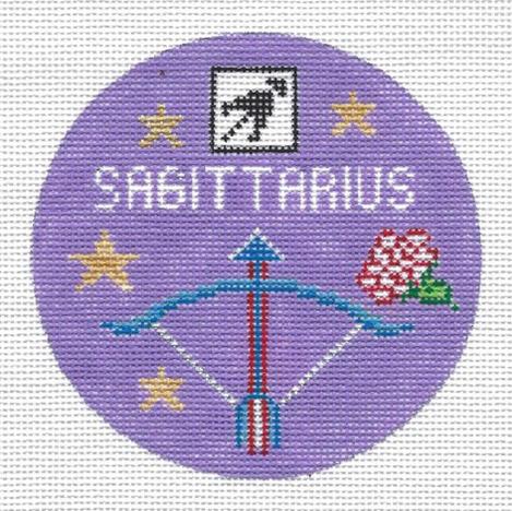 Sagittarius Zodiac Round - ZR111