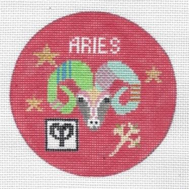 Aries Zodiac  Round - ZR105