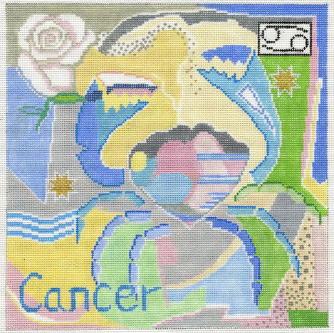 Cancer Zodiac Square - Z107