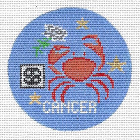 Cancer Zodiac  Round - ZR107