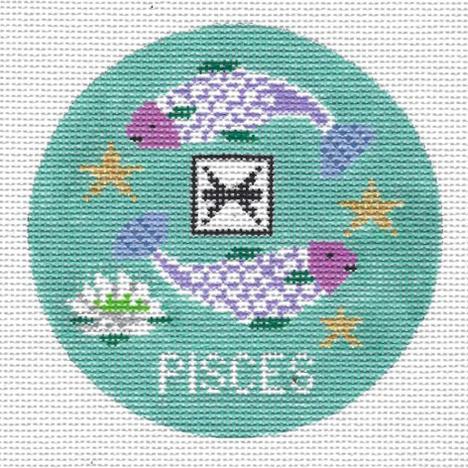 Pisces Zodiac Round - ZR103