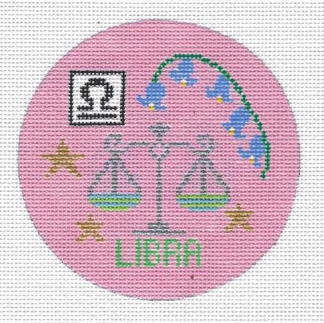 Libra Zodiac Round - ZR109