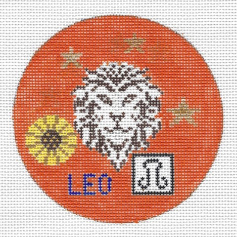 Leo Zodiac Round - ZR102