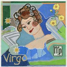 Virgo Zodiac Square - Z108