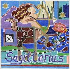 Sagittarius Zodiac Square - Z111
