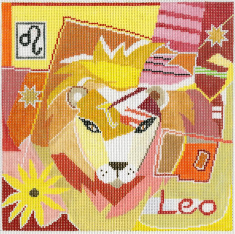 Leo Zodiac Square - Z102