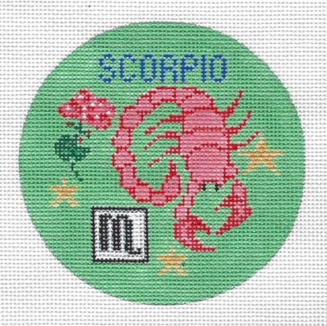 Scorpio Zodiac Round - ZR110