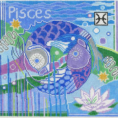 Pisces Zodiac Square - Z103