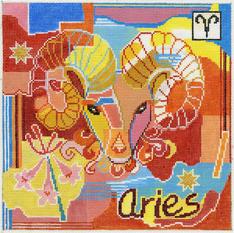 Aries Zodiac Square - Z105