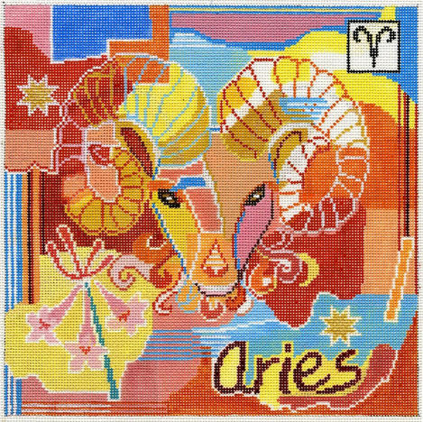 Aries Zodiac Square - Z105