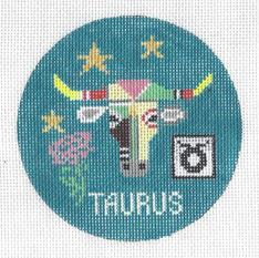 Taurus Zodiac Round - ZR101