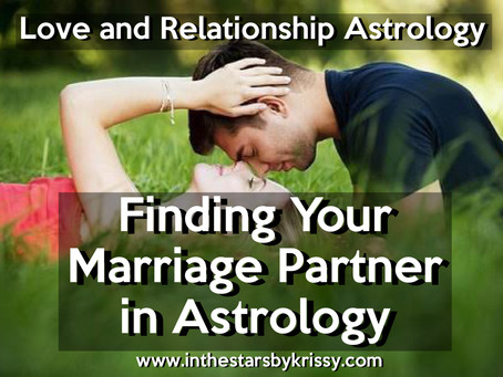 Finding Your Marriage Partner in Astrology and Describing Your Marriage