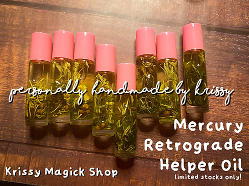 Mercury Retrograde Helper Oil