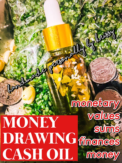 Money Drawing Oil