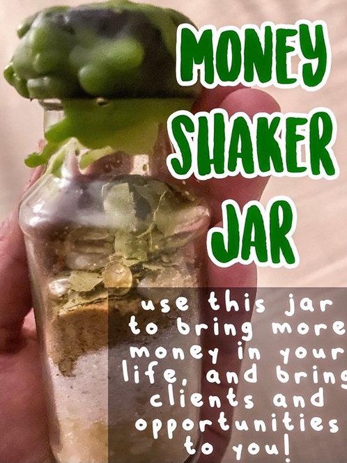 Money Shaker Jar