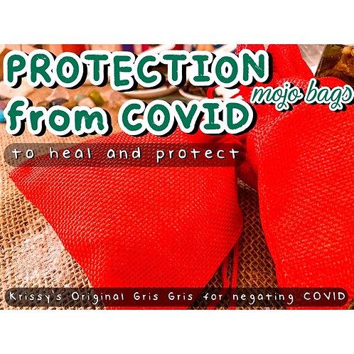 Protection from COVID Mojo Bag