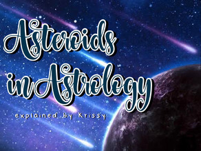 Asteroids in Astrology: Their Story, Meaning and Purpose in our Charts