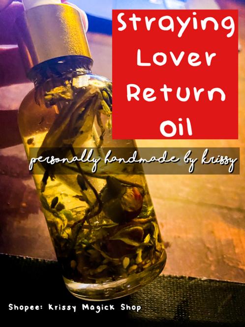 My Straying Lover Will Return Oil