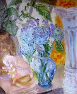 Blue Vase Morning