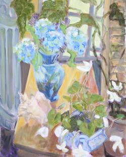 Blue Vase Afternoon