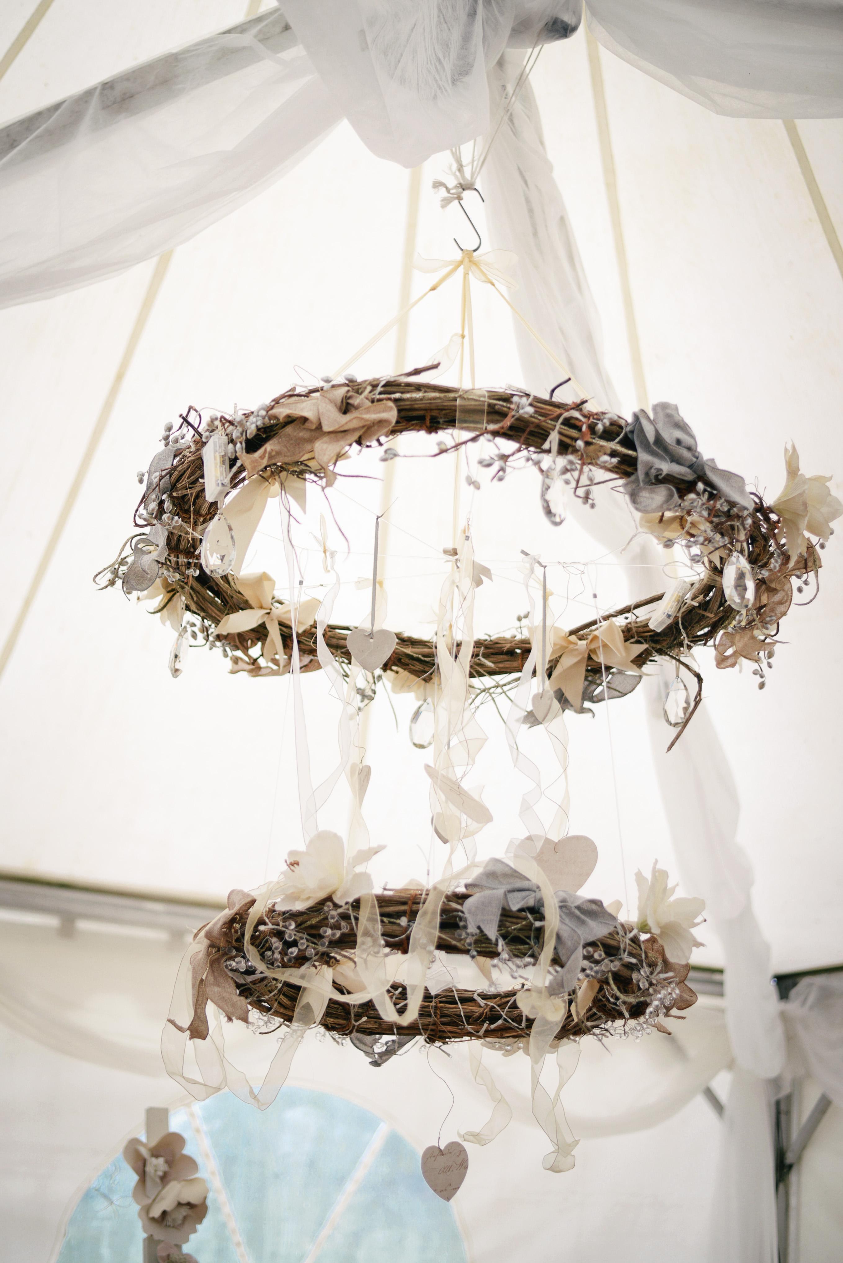 Ornate vintage chandaliers