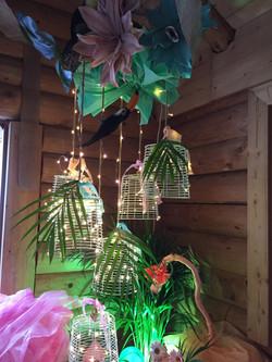 Tropical chandalier