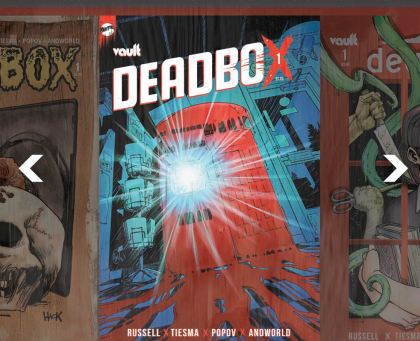Deadbox #1:  a book that will literally mix up your insides