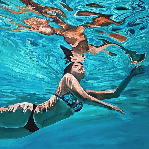 Beneath the Surface II (Self-portrait)