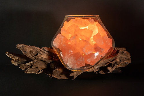 Lampada Crystal Light - D 15 cm