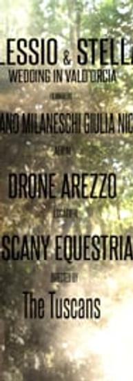 Alessio & Stella - Wedding Trailer in Valdorcia-Tuscany