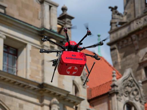 Drohneneinsatz im Medizinsektor