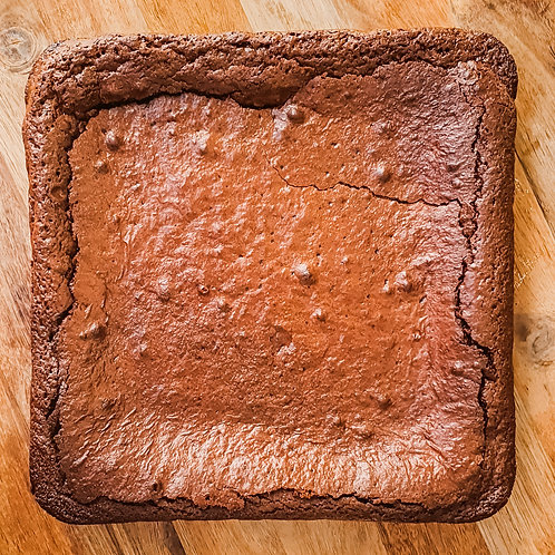 Nutella Brownies - slab