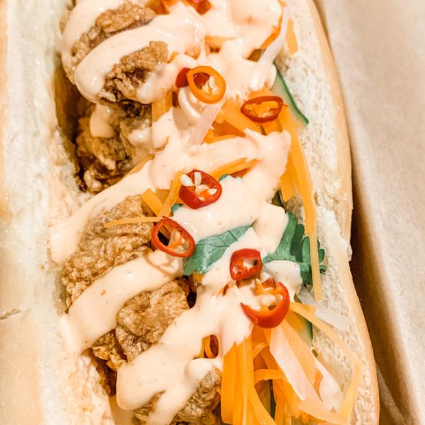 Crispy Chicken Banh Mi