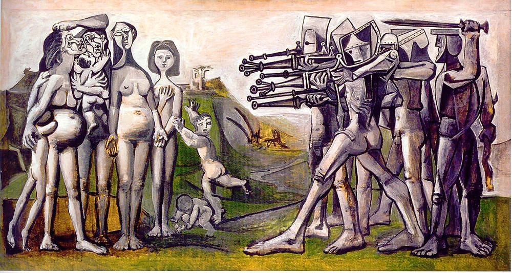 Massacre en Corée, Vallauris 18 Janvier 1951(Musée National Picasso-Paris
