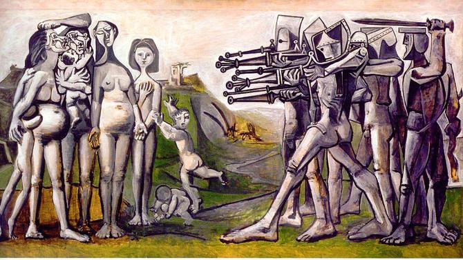 PICASSO et la guerre au musée de l'armée