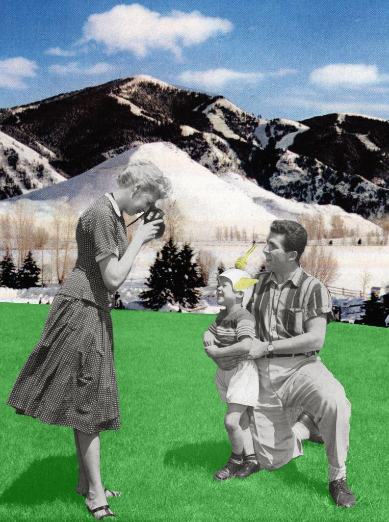 Propaganda Cosmik – Mercury, 2003Impression sur papier contrecollé sur PVC 188 x 140 cm Photographie et © Leonardo Boscani