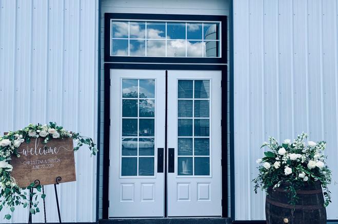 Hay Barn Entrance
