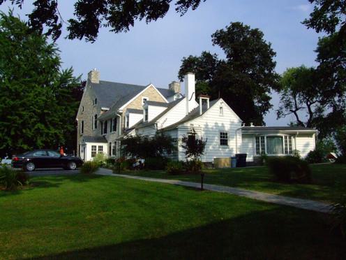 Back side of the Inn