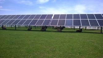 100KW Solar Field