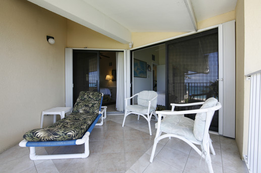 2nd Floor Balcony with entrance to two bedrooms
