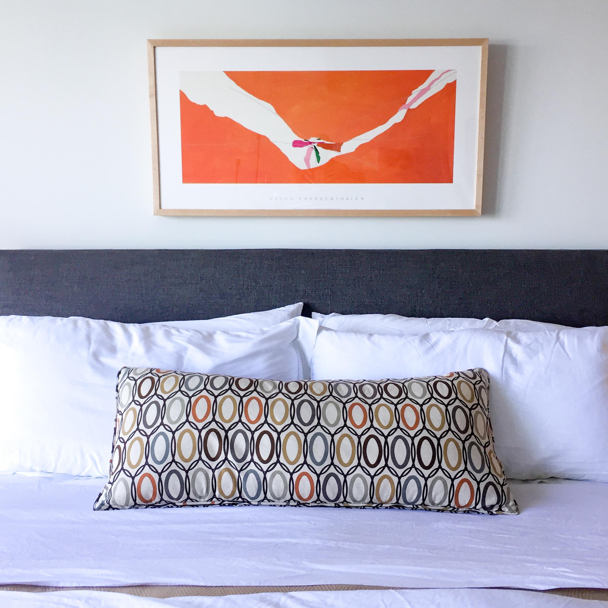 guest suite bed