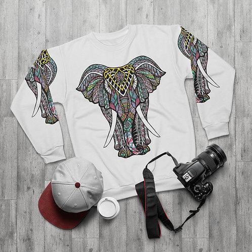 Decorative Elephant Sweatshirt