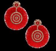 Red_Silk_Fan_Tassel_Earrings___Toscana_e