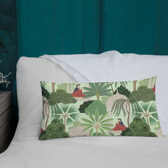 India Love Mint Green  Premium Pillow